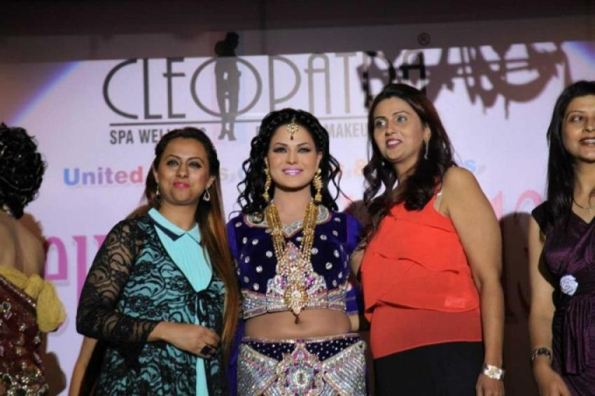 Veena Malik walks the ramp for Eh Dil Da Mamla Photos