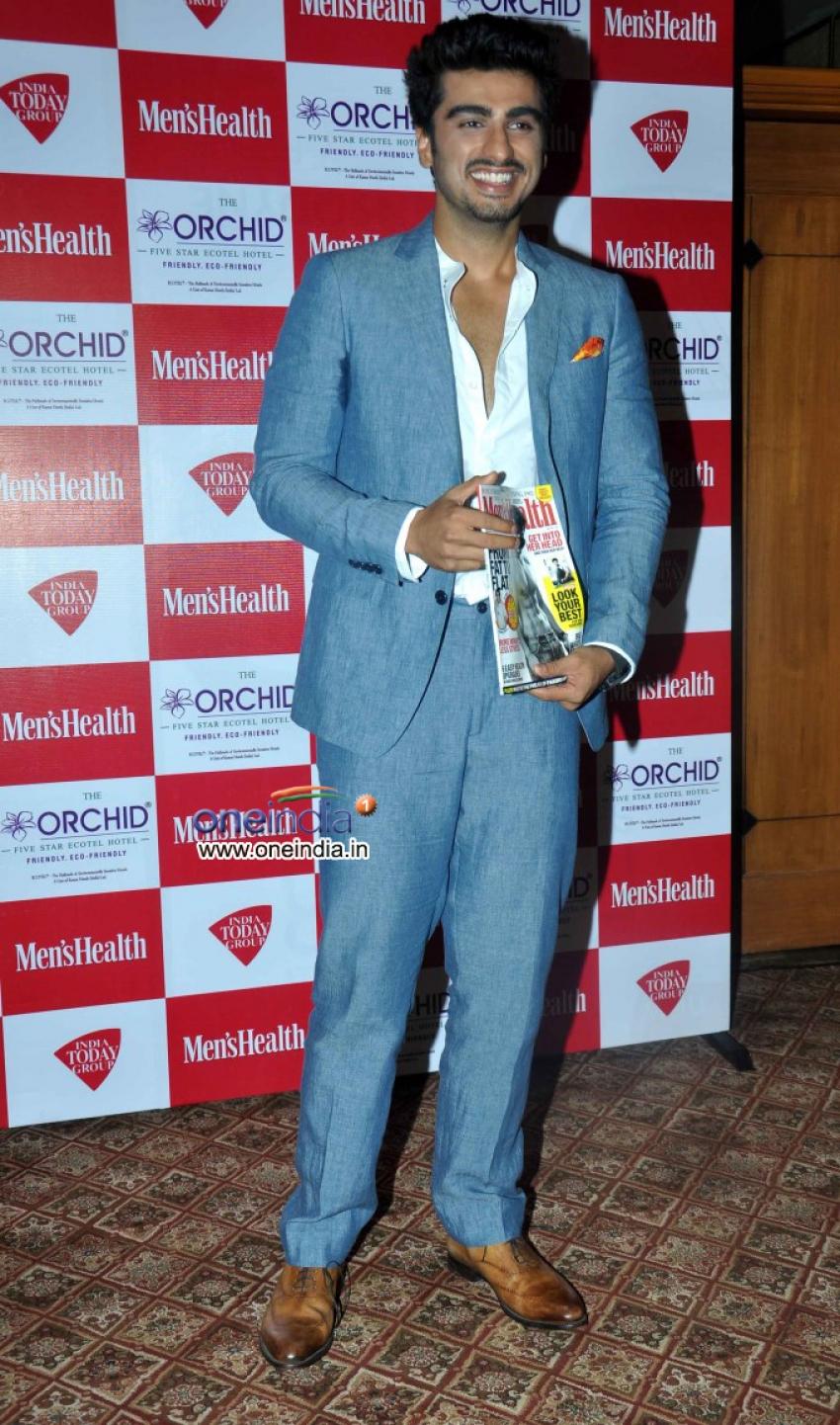 Arjun Kapoor Unveils Men's Health Magazine May Cover Photos