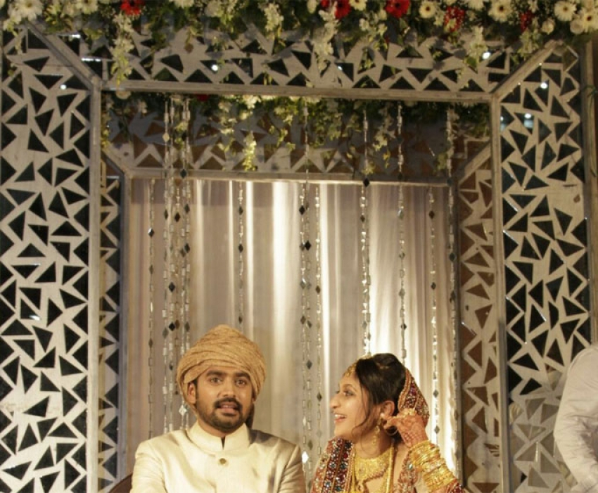 Asif Ali and Zama Wedding Photos