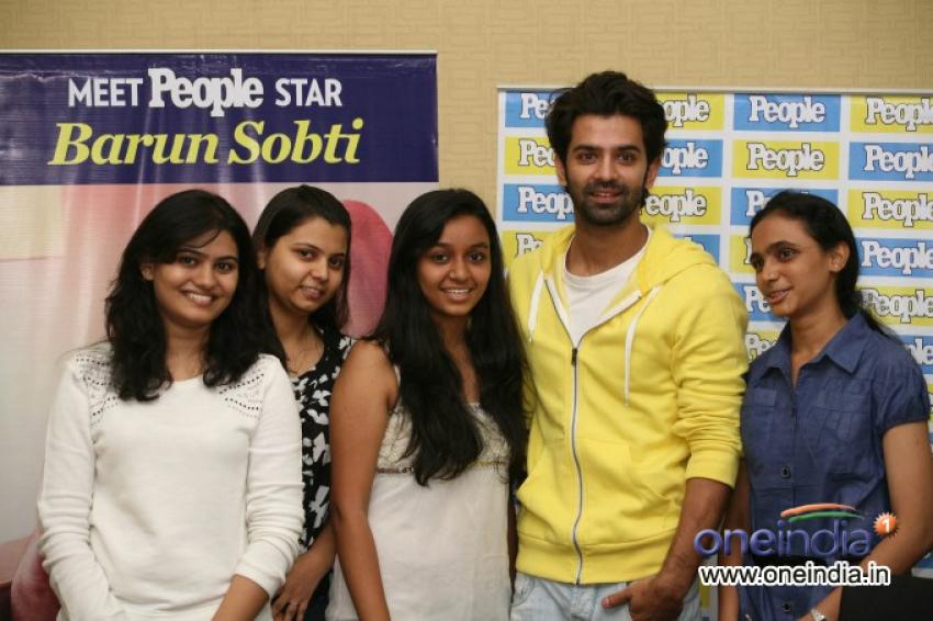 Barun Sobti's Meet and Greet session Photos