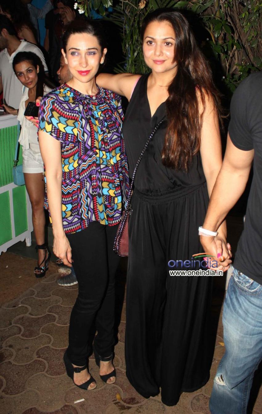 Karisma Kapoor, Amrita Arora & Malaika Arora Khan Snapped Photos