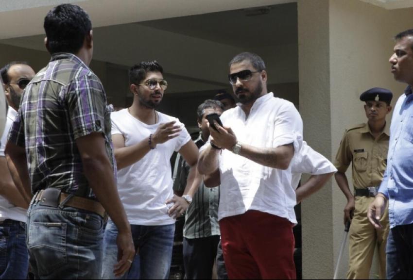 Celebs Visited Sanjay Dutt's Residence Photos