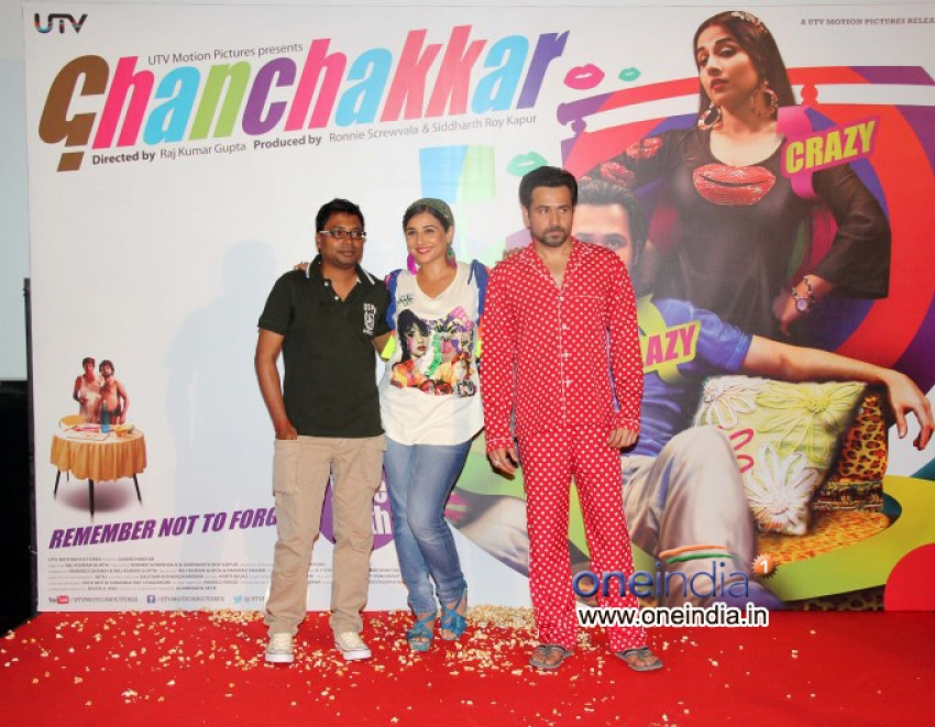 Ghanchakkar Film Lazy Lad Song launch Photos