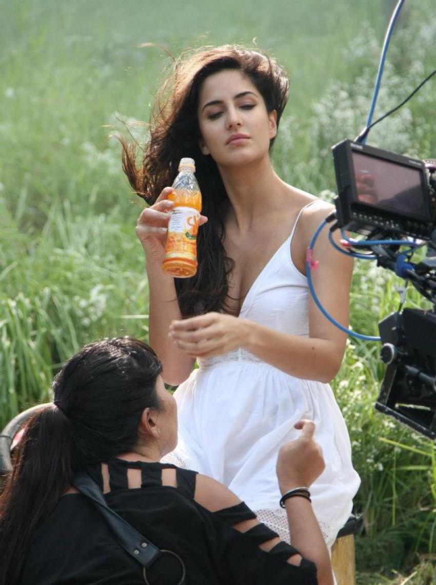 Katrina Kaif Unseen Pics From Slice Ad Shoot Photos