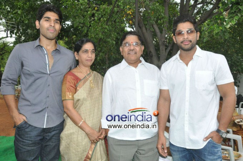 Kotha Janta Movie Launch Photos