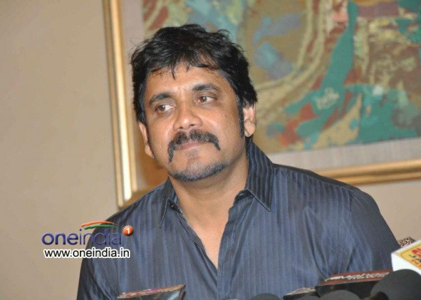 Nagarjuna speaks about Thadaka Photos