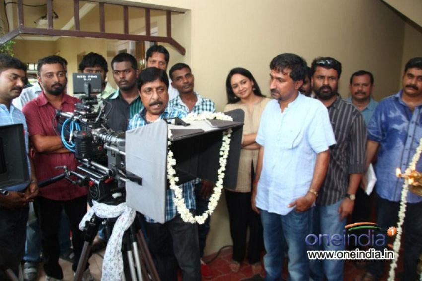 RED Movie Pooja Photos