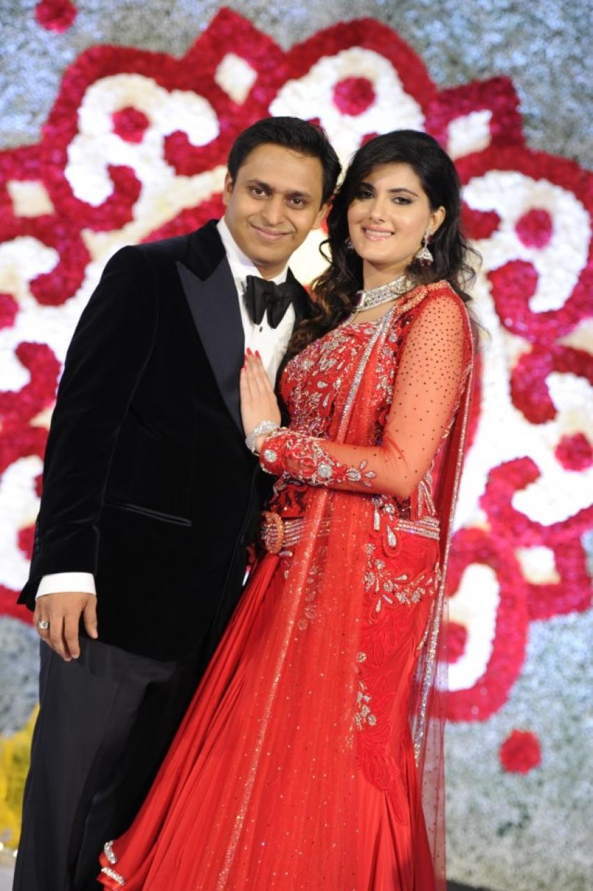Sachin Tendulkar at Rohan Pate's Engagement Ceremony Photos