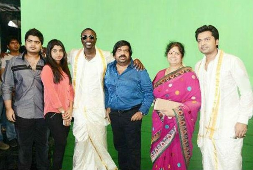 Love Anthem For World Peace Recording On The Sets Photos