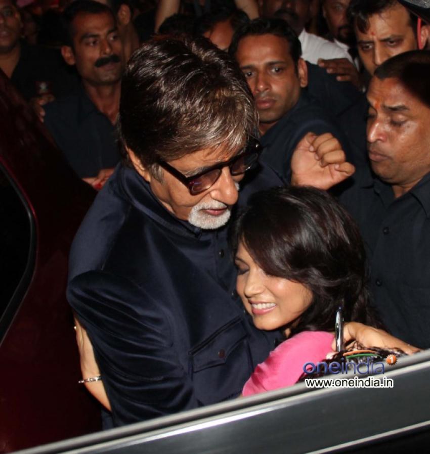 Amitabh Bachchan Inaugurates Skinfiniti Skin Care Clinic Photos