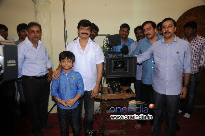 Balakrishna, Boayapti Srinu Movie Launch Photos