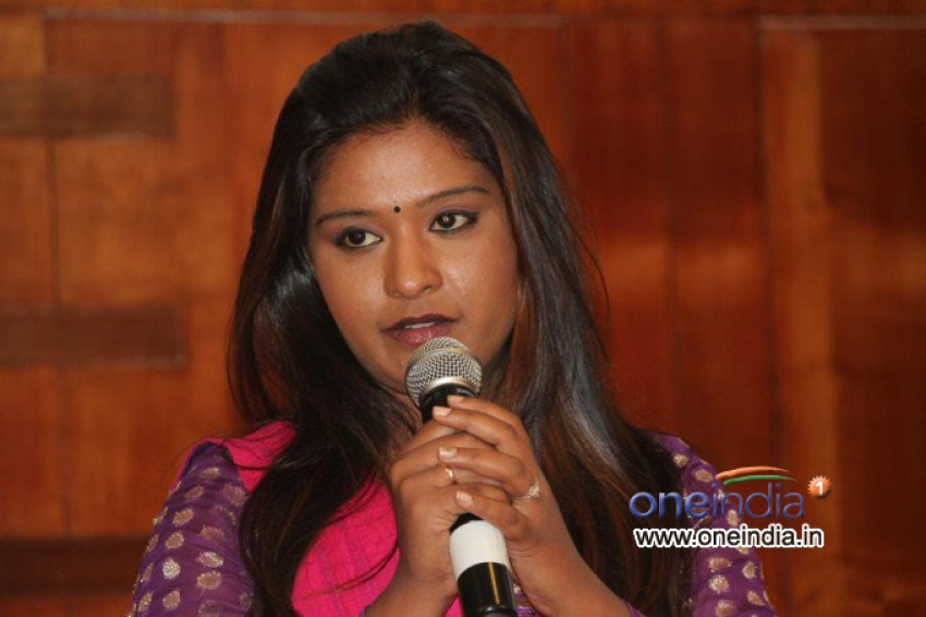Bharathi Press Meet Photos
