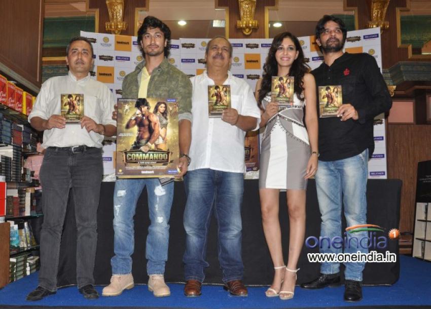 Commando Film DVD Launch Photos