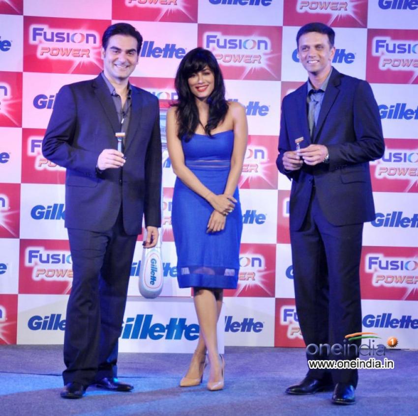 Launch of Gillette Fusion Power Photos
