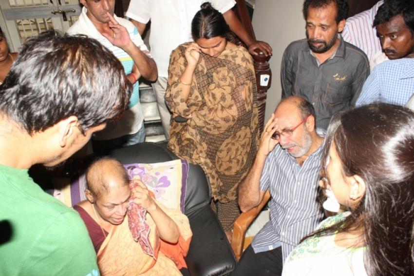 Manivannan's Last Journey Photos