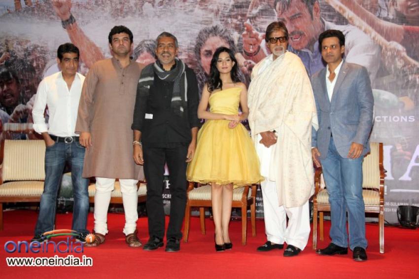 Satyagraha Film Trailer Launch Photos