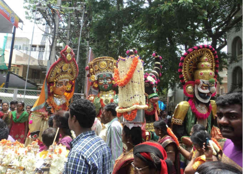 Grama Devata Utsav in Bangalore Photos