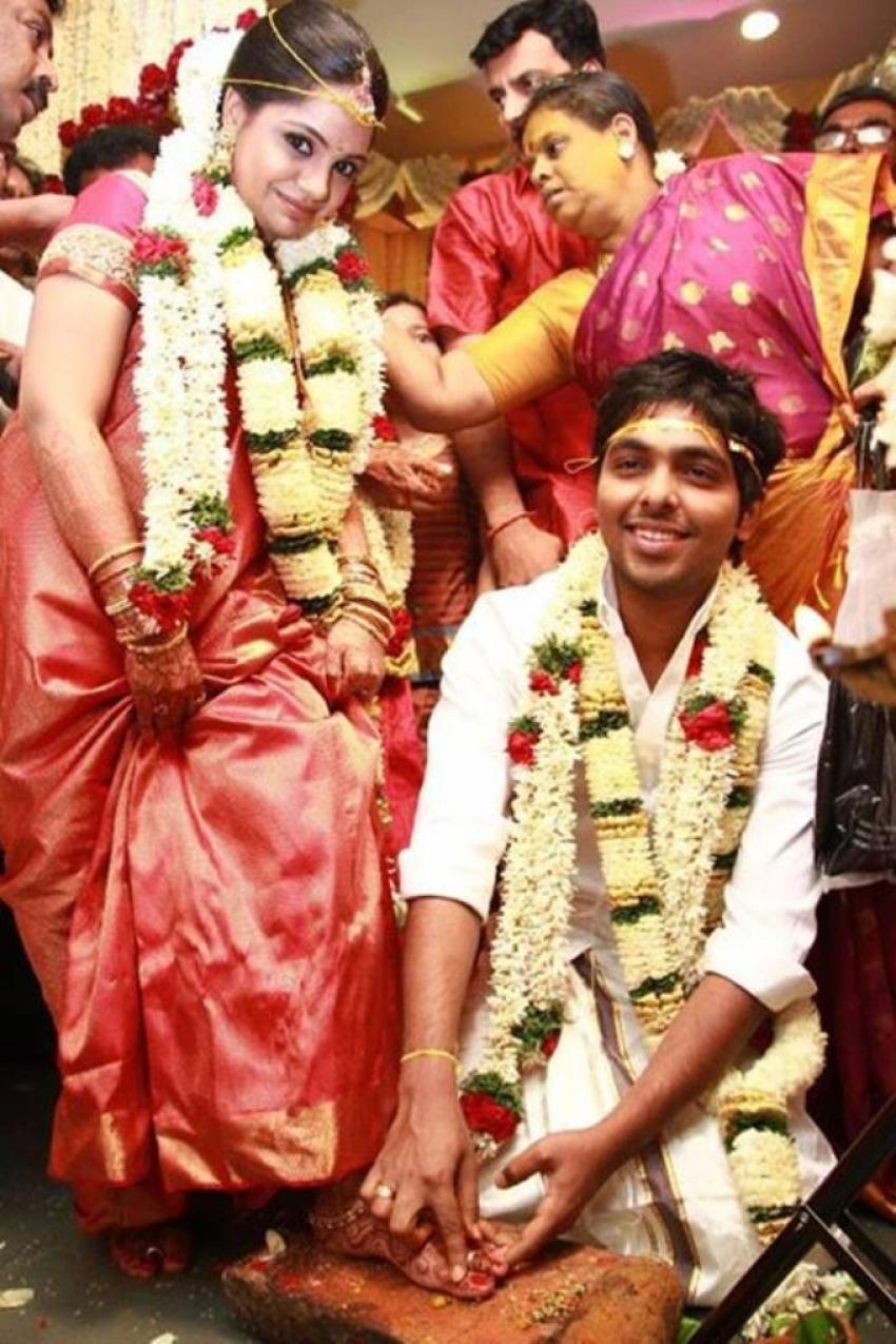 GV Prakash and Saindhavi Marriage Photos