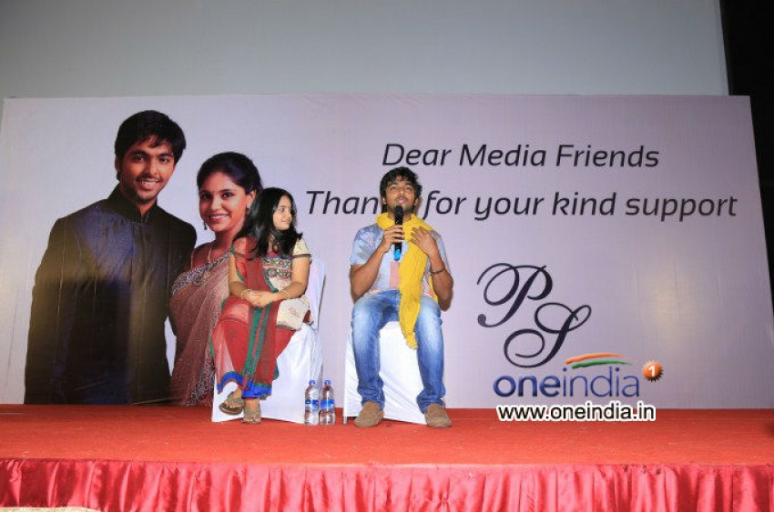 GV Prakash and Saindhavi Marriage Press Meet Photos