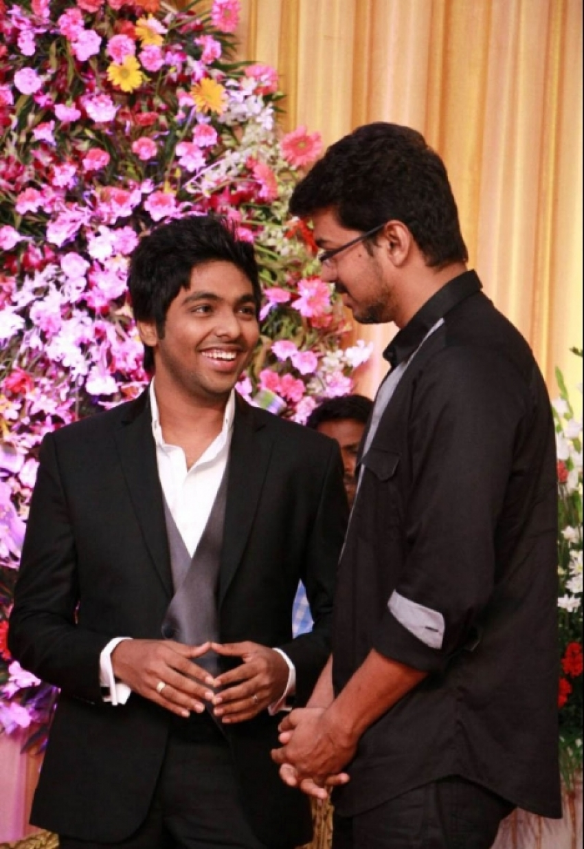 GV Prakash and Saindhavi Wedding Reception Pictures Photos