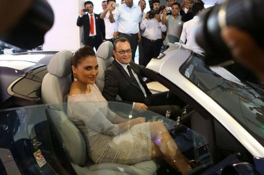 Lara Dutta Launches New Audi Showroom Photos