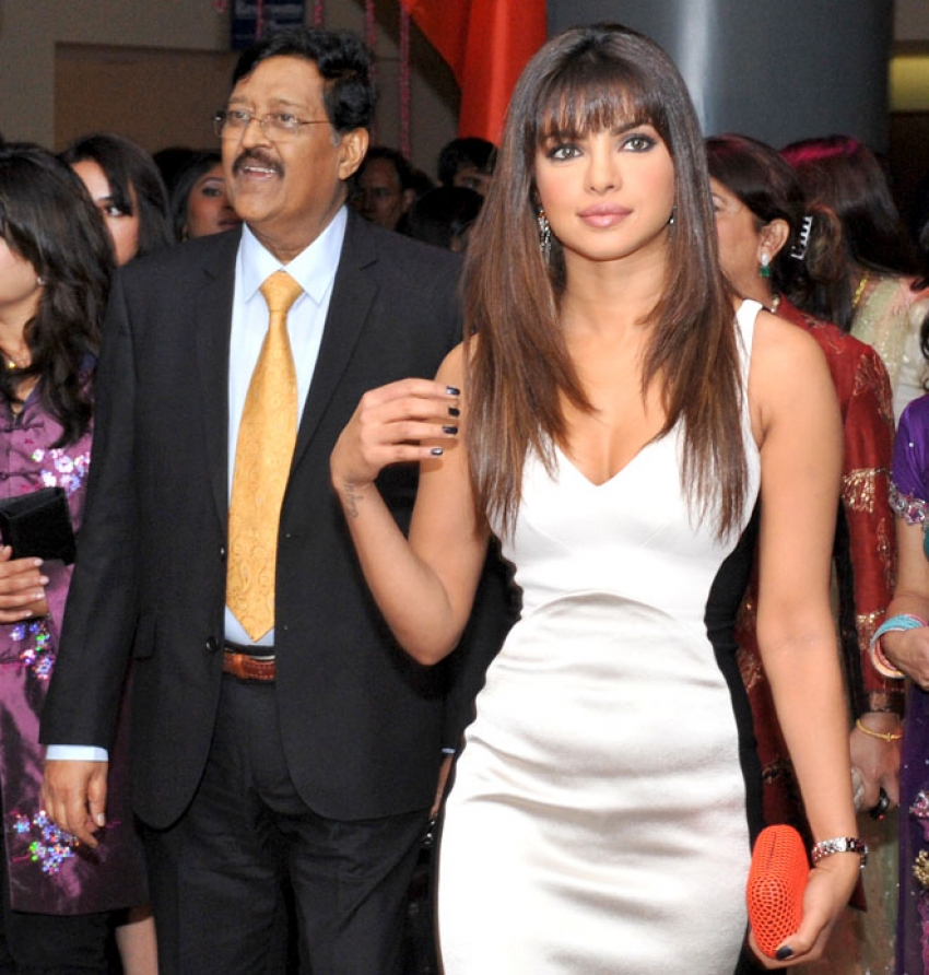 Rare and Unseen Pictures - Priyanka Chopra with her Father Photos