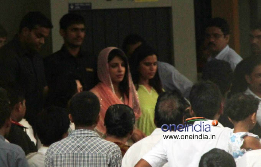 Shok Sabha of Priyanka Chopra Father Photos