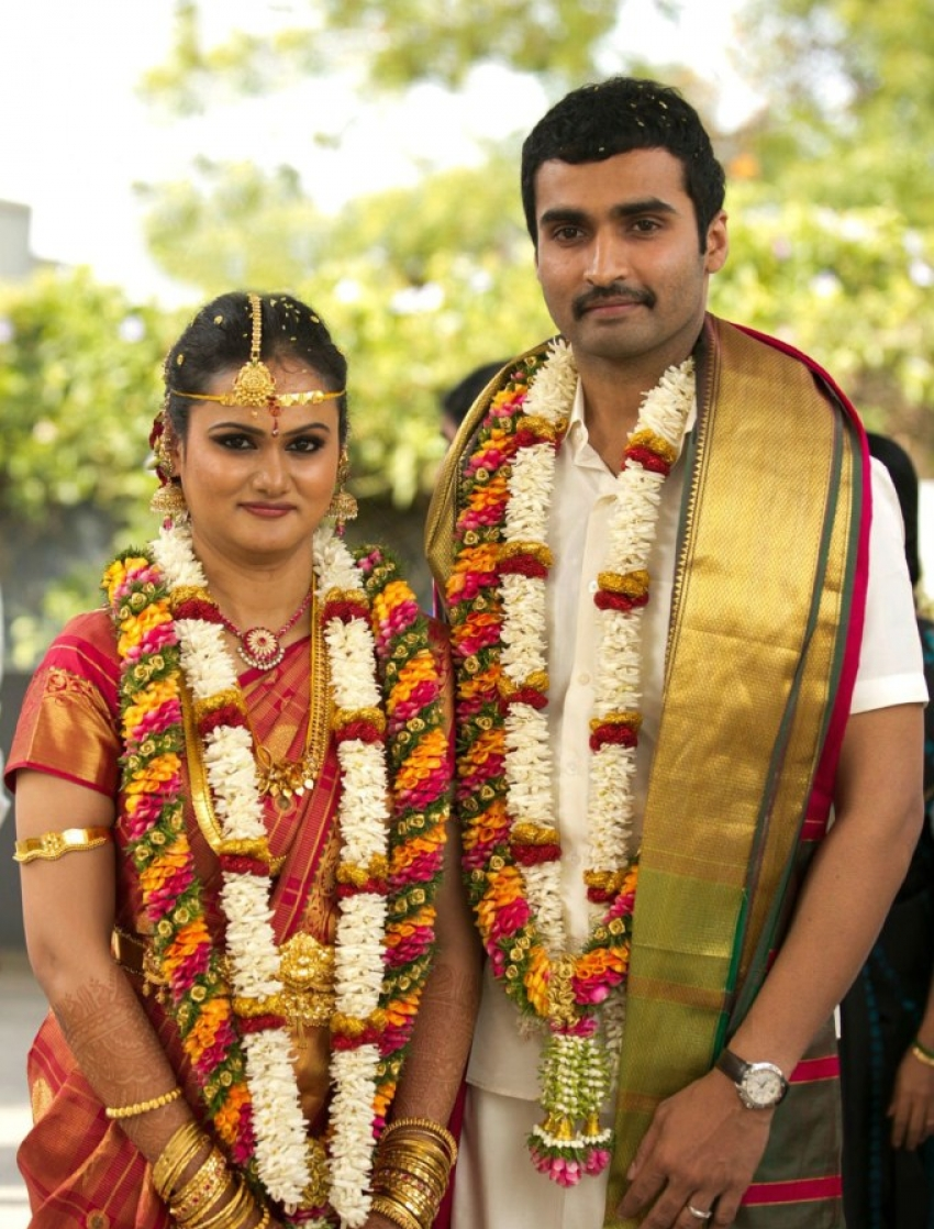 Actor Nandha Marriage Photos