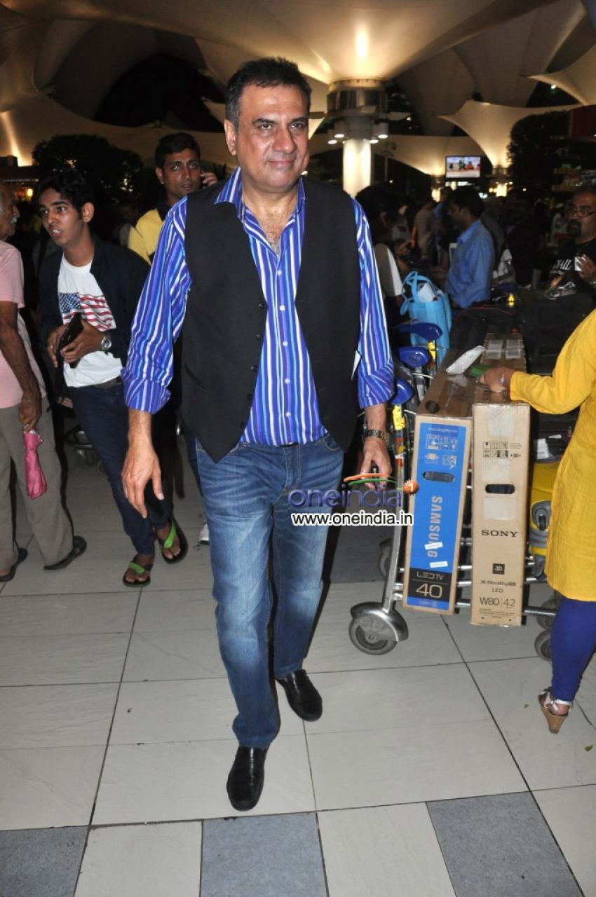 Celebs Arrives From IIFA 2013 Photos