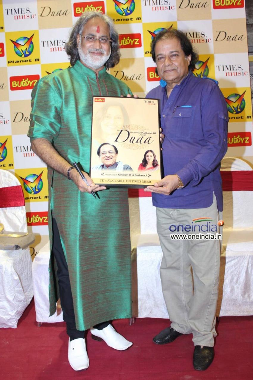Launch of musical album Duaa Photos