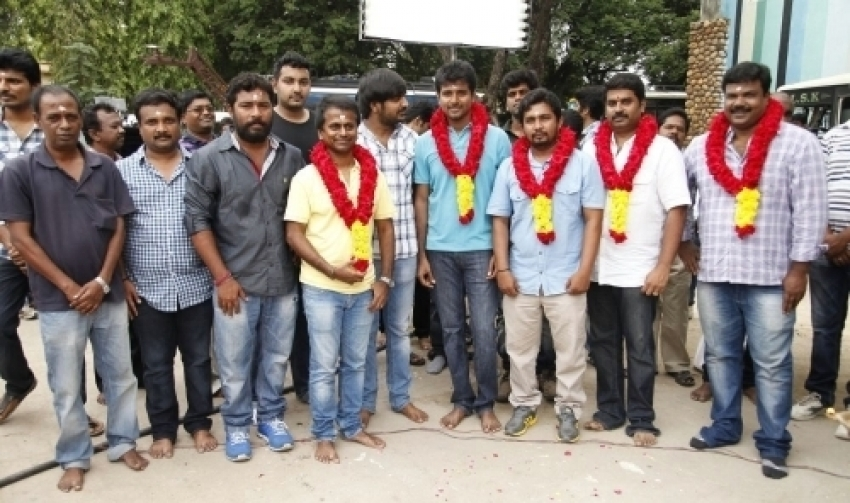 Maan Karate Movie Launch Photos