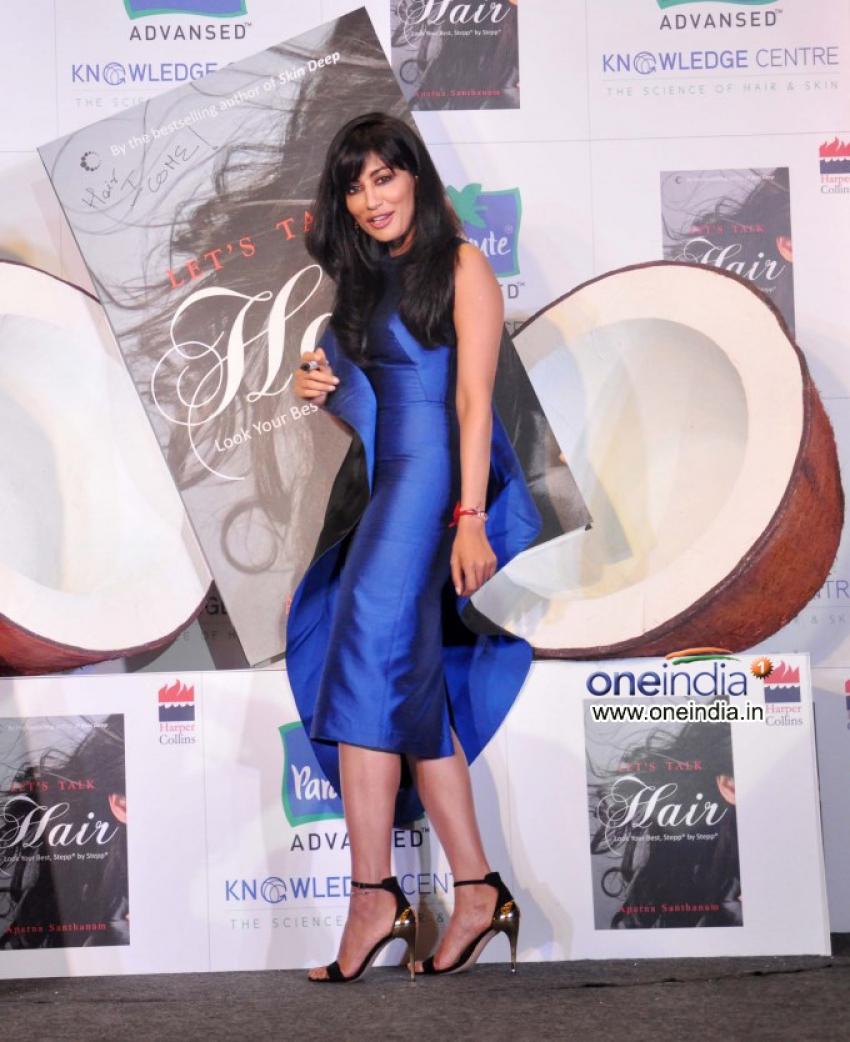 Chitrangada Singh launches of Dr Aparna Santhanam's book Let's talk Hair Photos