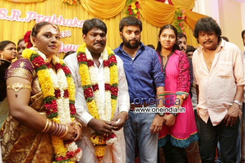 Director S.R. Prabhakaran Wedding Photos
