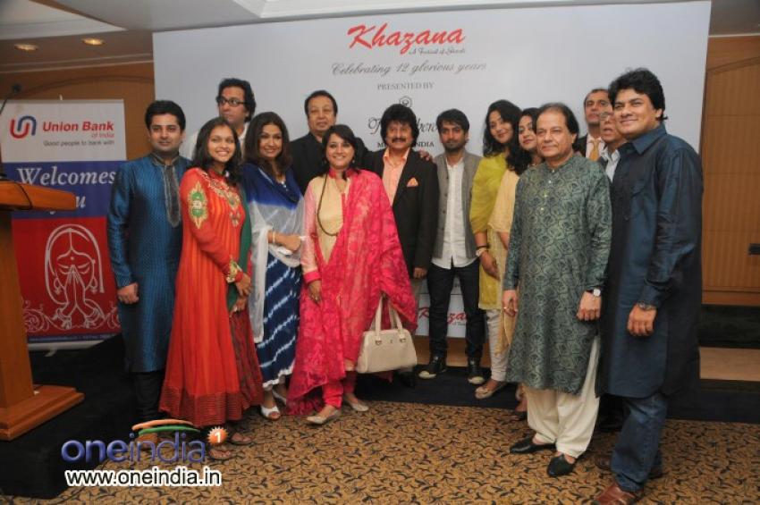 Launch of Khazana Music Festival 2013 Photos