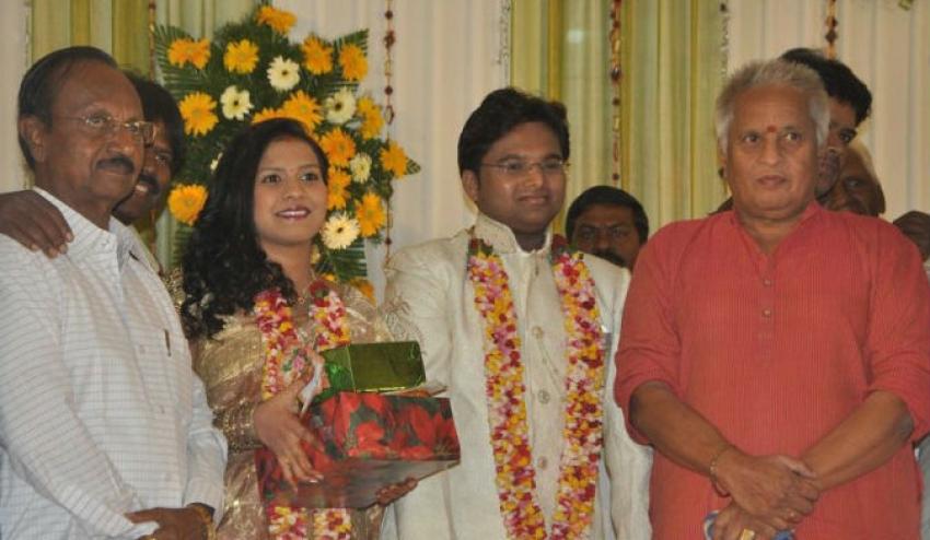 Lyricist Piraisudan Daughter Wedding Reception Photos