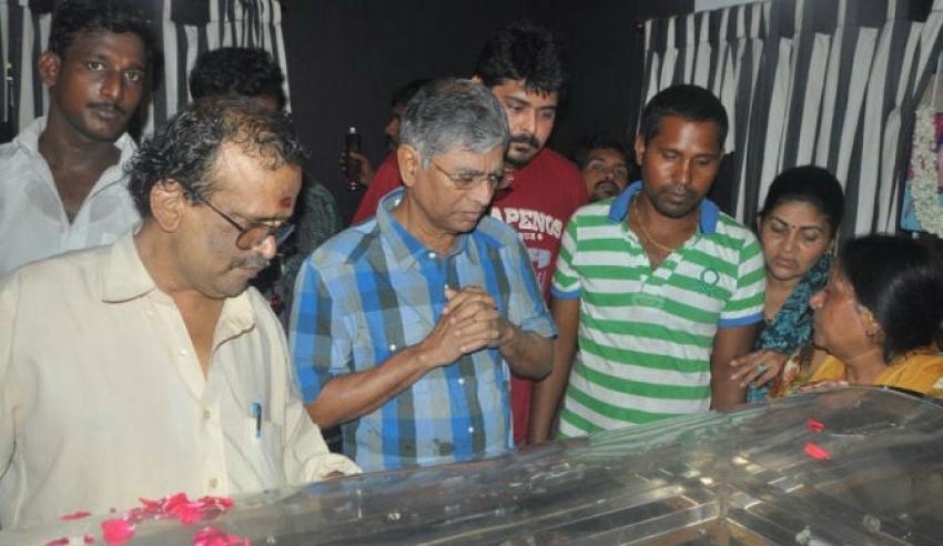 Lyricist Vaali Funeral Photos