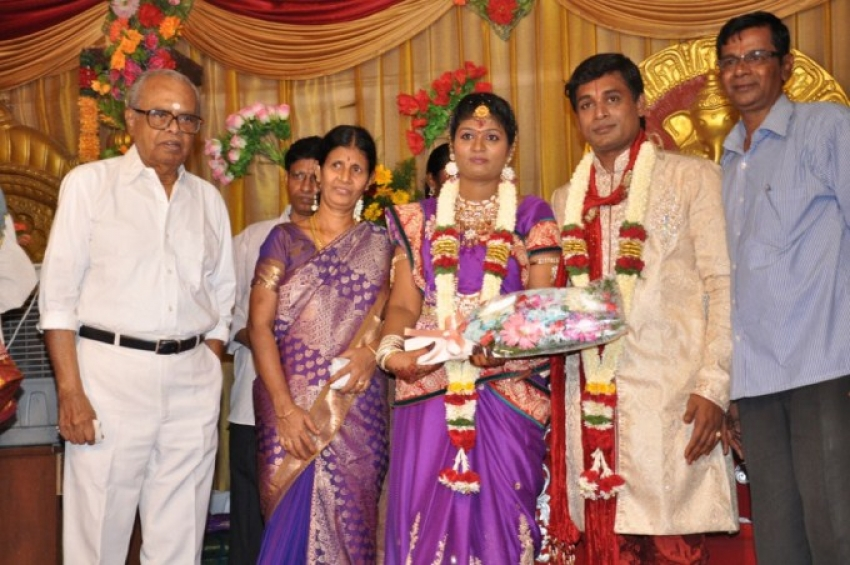 Major Dasan Daughter Wedding Reception Photos