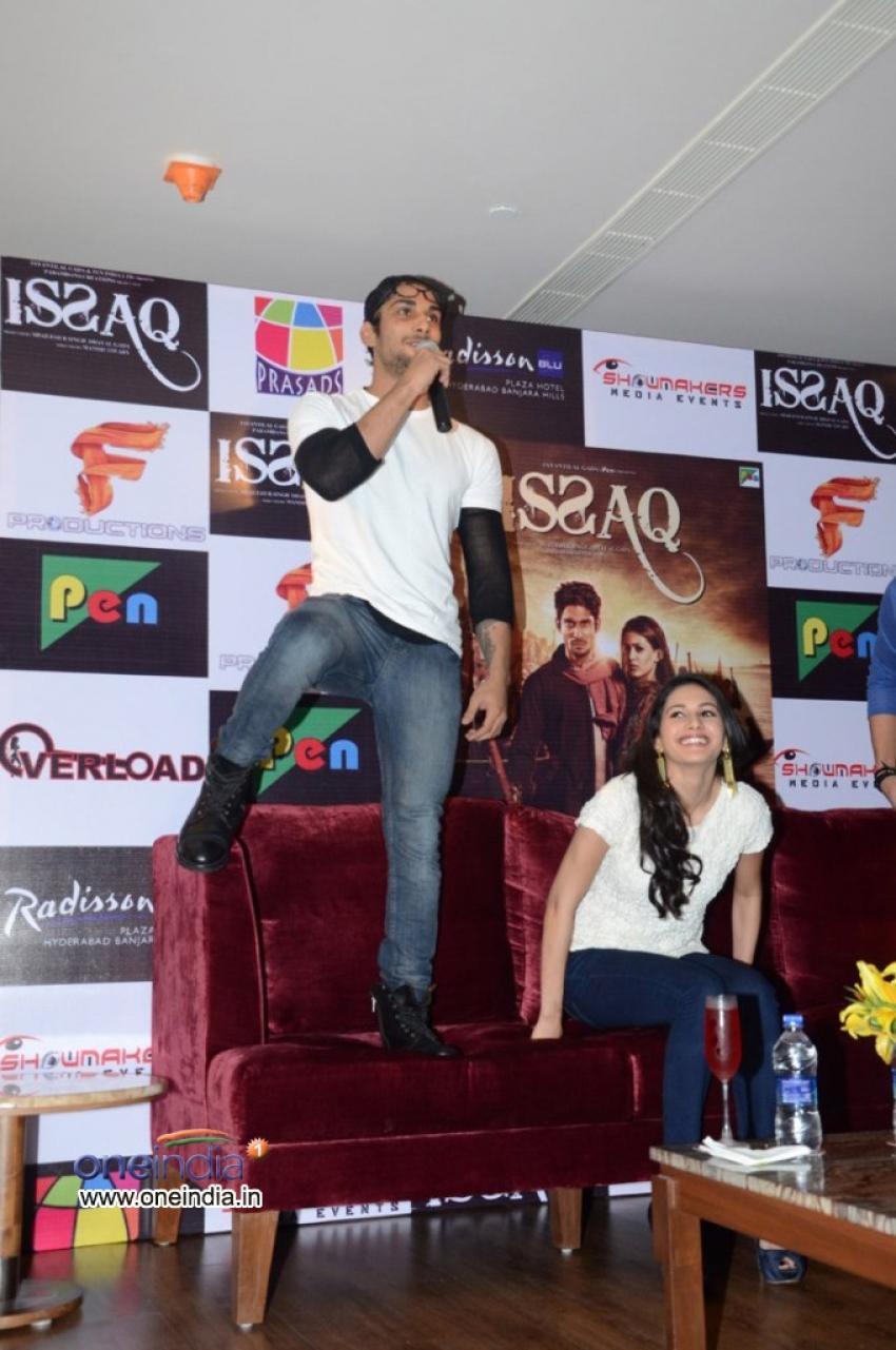 Issaq Film Promotion Photos