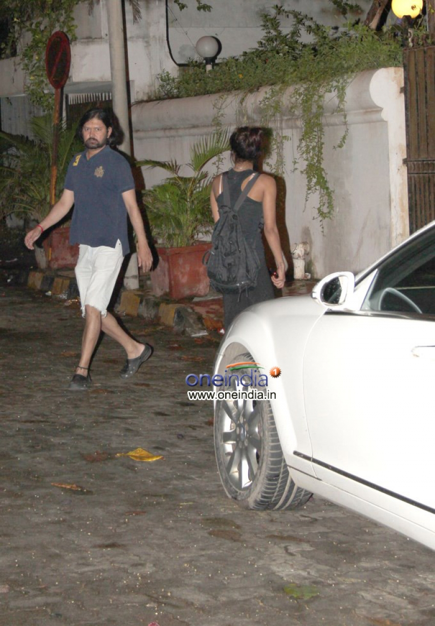 Priyanka Chopra Snapped at Sameer Arya's House Photos
