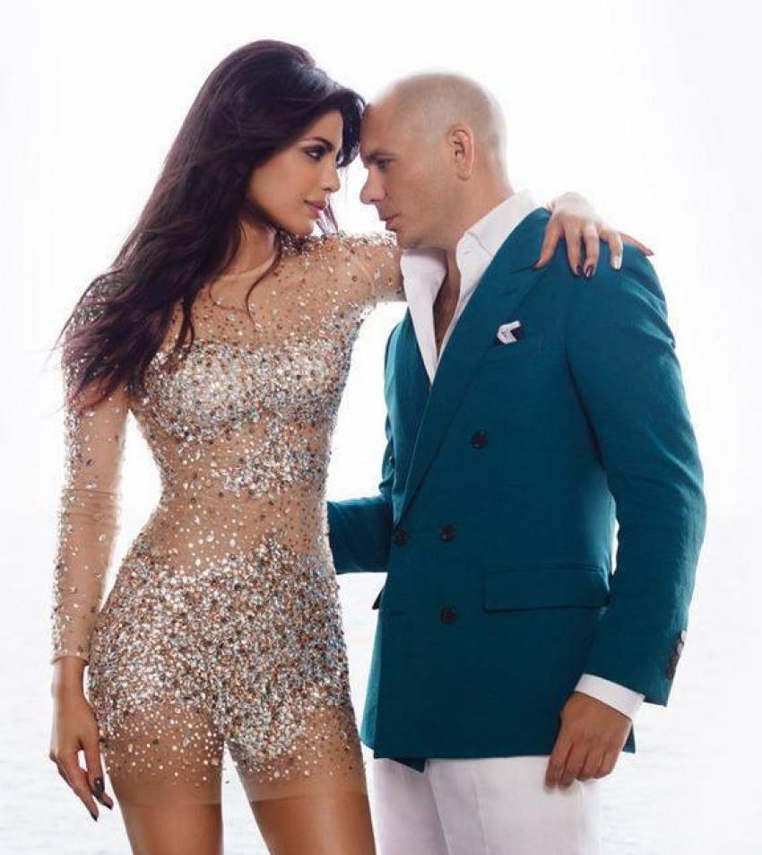 Priyanka Chopra's 'Exotic' Stills With Pitbull Photos