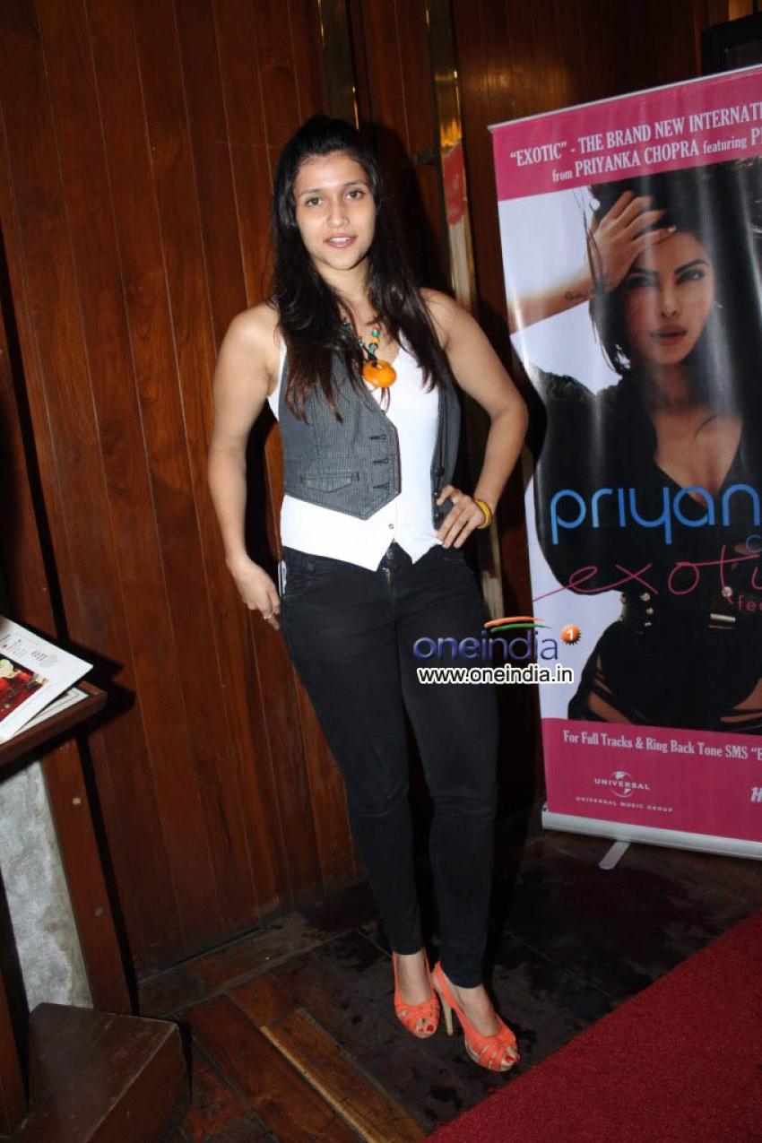 Priyanka Chopra Unveils her Exotica Music Album Photos