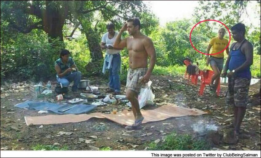 Salman Khan Spotted with Lulia Vantur Photos