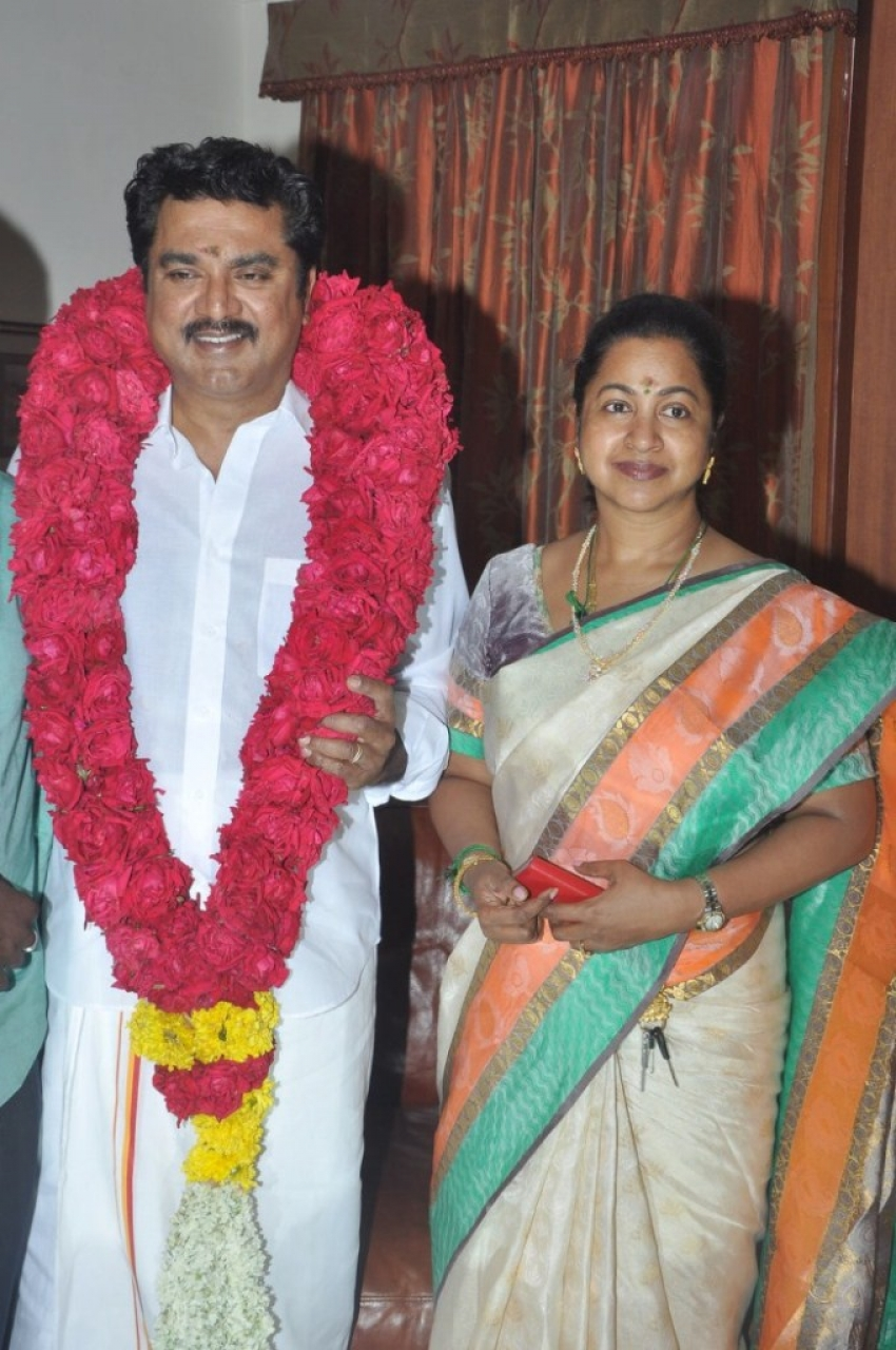 Sarathkumar 59th Birthday Celebration Photos