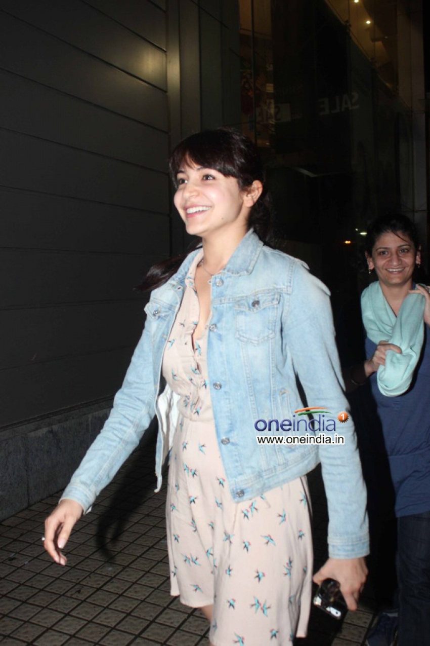 Anushka Sharma and Rohit Shetty snapped at PVR theatre Photos