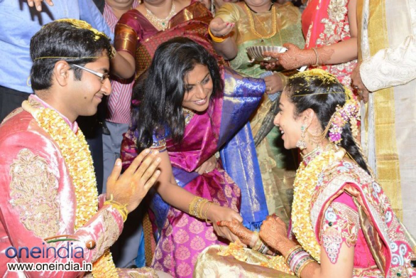 Celebs at Balakrishna Daughter Tejaswini Wedding Photos