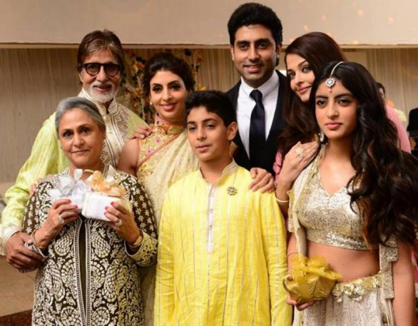 Bachchan's Family Attend Close Friend Marriage Photos