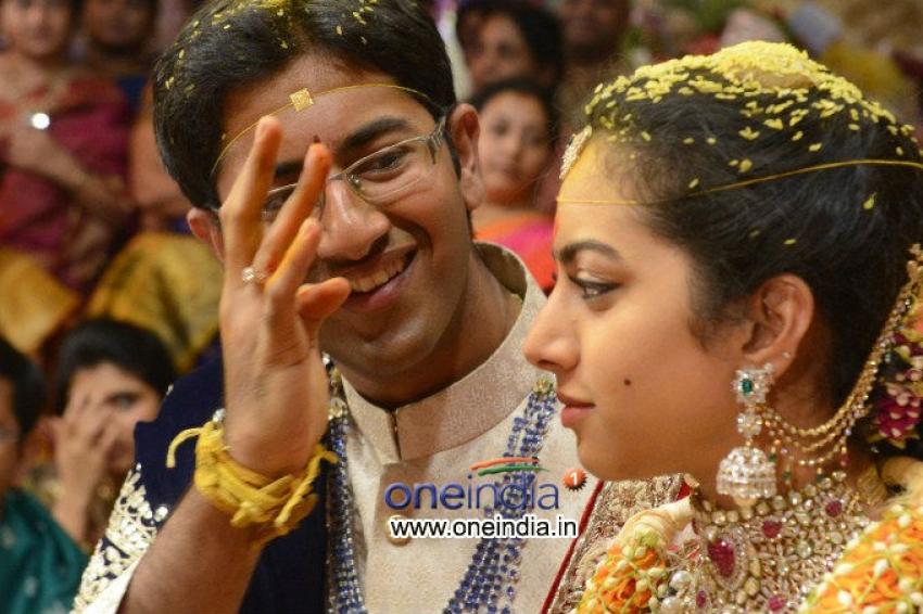 Balakrishna Daughter Tejaswini Wedding Photos