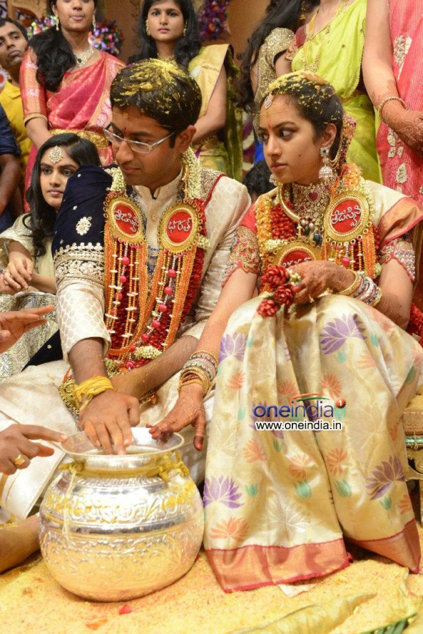 Spectacular Balakrishna daughter marriage photos