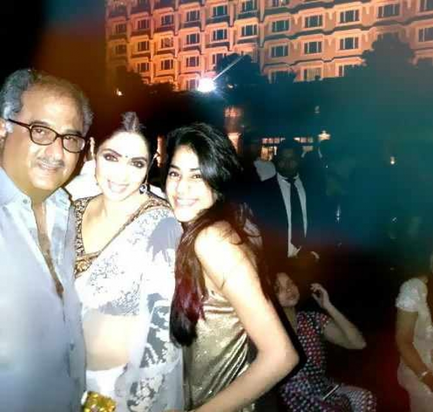 Sridevi Kapoor 49th Birthday Celebration Photos