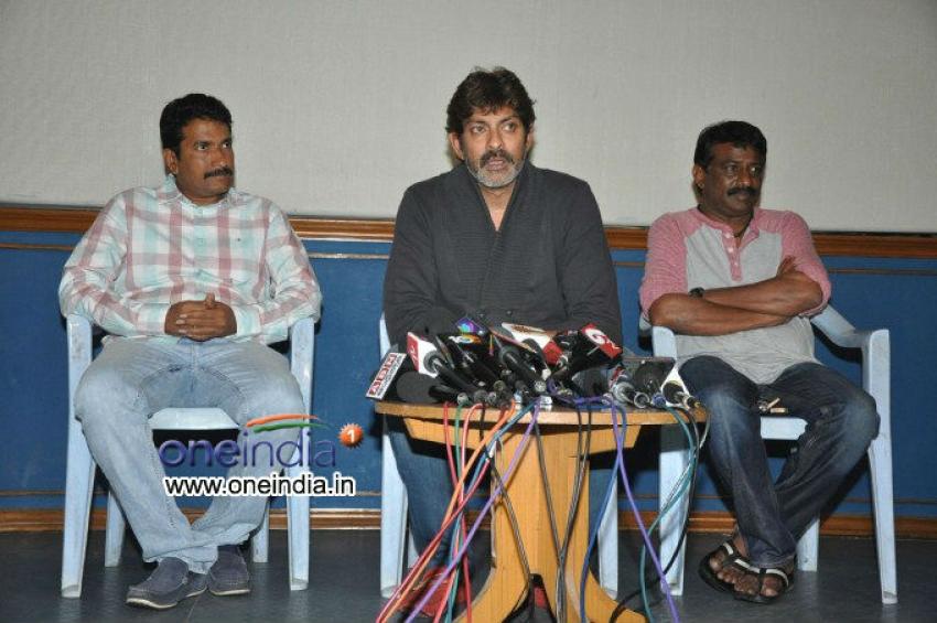 Jagapathi Babu Press Meet Photos